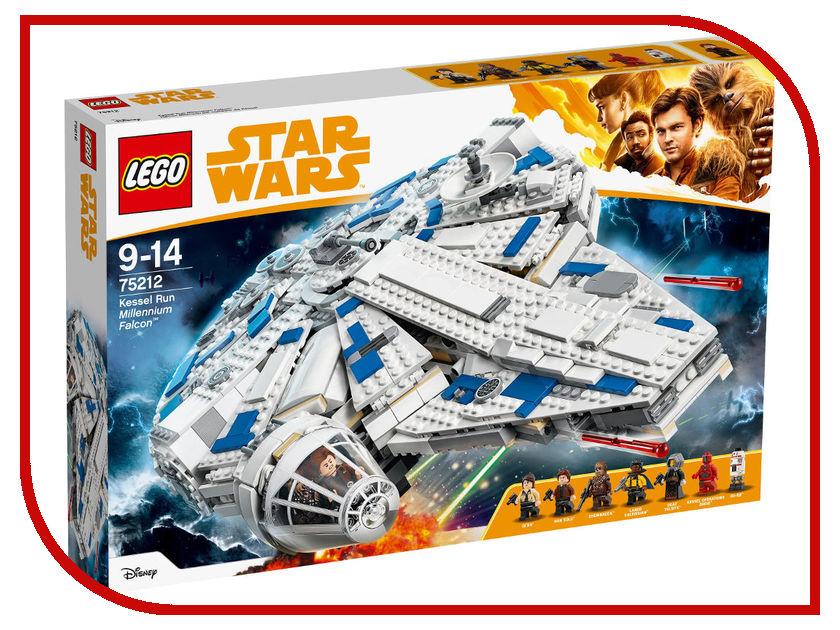 LEGO Star Wars 75212 Сокол Тысячелетия на Дуге Кесселя запонки сокол тысячелетия churchill accessories запонки сокол тысячелетия