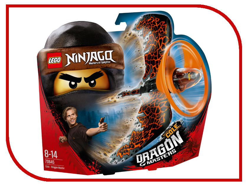 Конструктор Lego Ninjago Коул-Мастер дракона 70645 конструктор lego ninjago 70633 кай мастер кружитцу