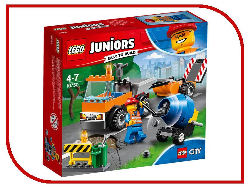 Конструктор Lego Juniors Грузовик дорожной службы 10750