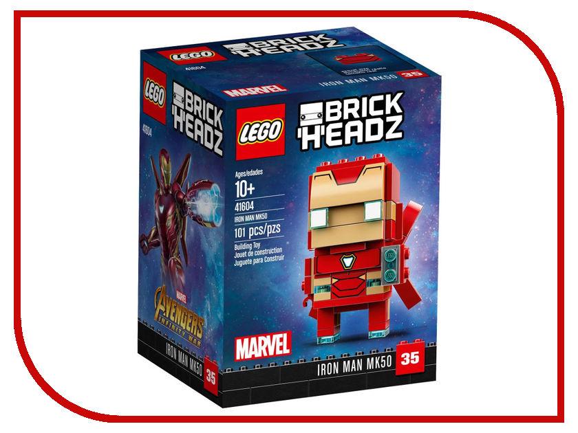 Конструктор Lego Brick Headz Железный человек 41604 конструктор lego juniors 10721 железный человек против локи