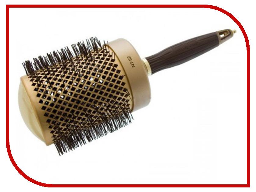 Брашинг для волос Olivia Garden Nano Thermic 82mm 07498 / 10797 olivia garden термобрашинг nano thermic 34мм olivia garden