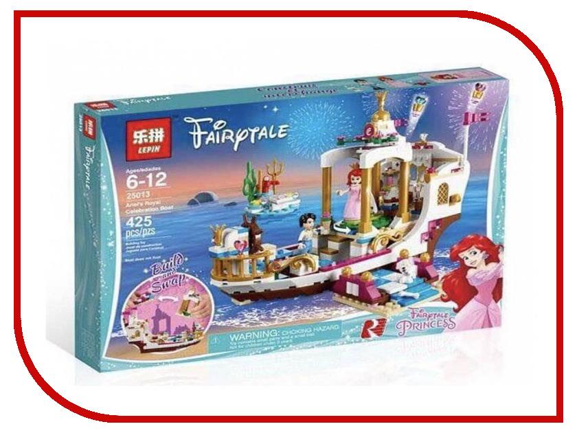 Конструктор Lepin Fairytale Королевский корабль Ариэль 425 дет. 25013 конструктор lepin fairytale сказочный замок спящей красавицы 360 дет 25012