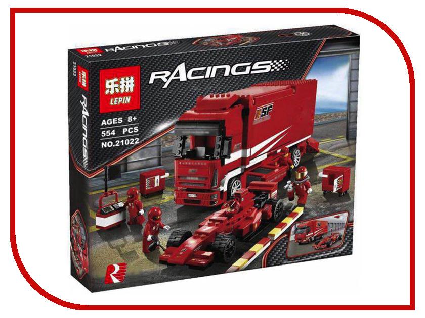 Конструктор Lepin Racings Грузовик Ferrari 554 дет. 21022 конструктор lepin technician суперавтомобиль 1281 дет 20028