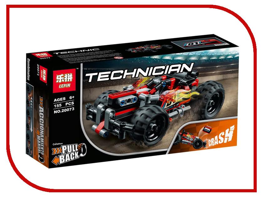 Конструктор Lepin Technician Красный гоночный автомобиль 155 дет. 20073 конструктор lepin star plan истребитель набу 187 дет 05060