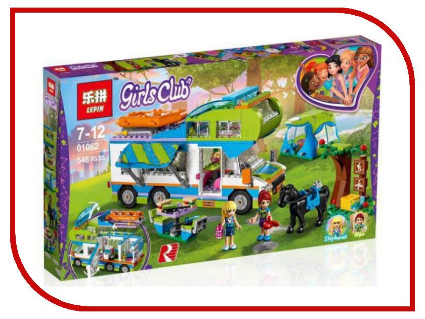 Конструктор Lepin Girls Club Дом на колёсах 546 дет. 01062 конструктор lepin girls club сцена андреа в парке 256 дет 01058