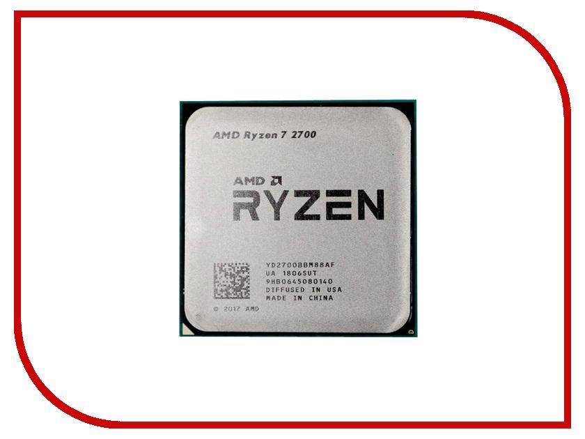 Процессор AMD Ryzen 7 2700 OEM YD2700BBM88AF процессор amd ryzen 7 1700x oem yd170xbcm88ae