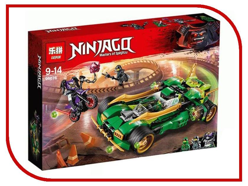 Конструктор Lepin Ninjagq Ночной вездеход ниндзя 564 дет. 06076 конструктор lepin fairytale сказочный замок спящей красавицы 360 дет 25012