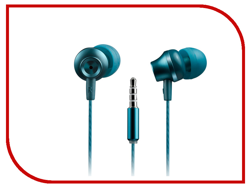Canyon CNS-CEP3BG Blue-Green OSCNSCEP3BG canyon sport earphones blue cns sep1bl