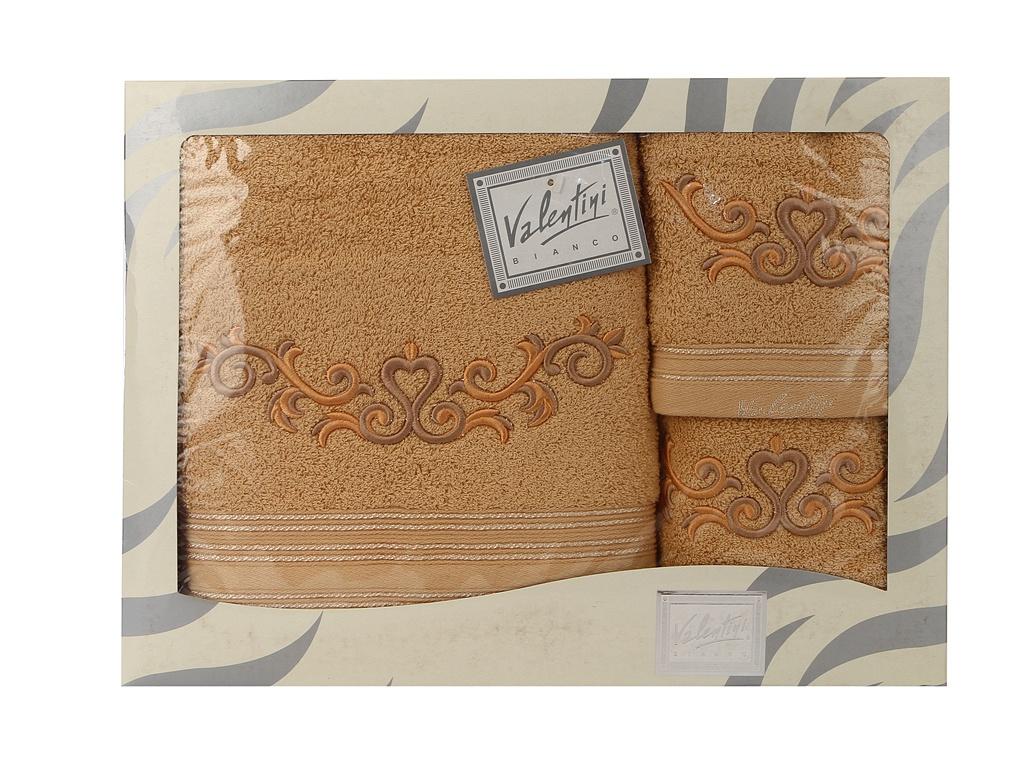 Полотенце Valentini 30x50/50x100/70x140cm 3шт 10031 1113 цены онлайн