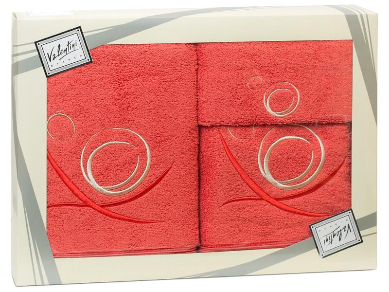 Полотенце Valentini 30x50/50x100/70x140cm 3шт 80027 1088