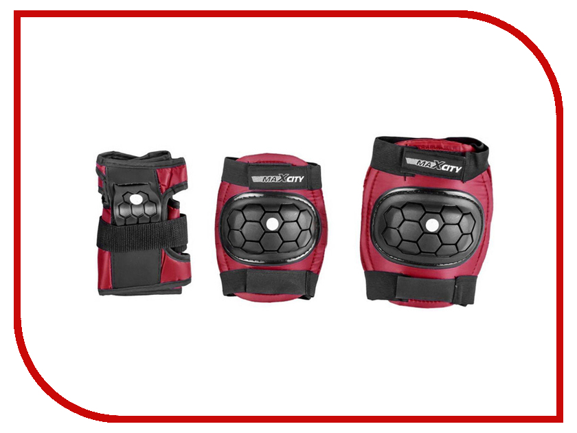 Комплект защиты Maxcity Match L Red