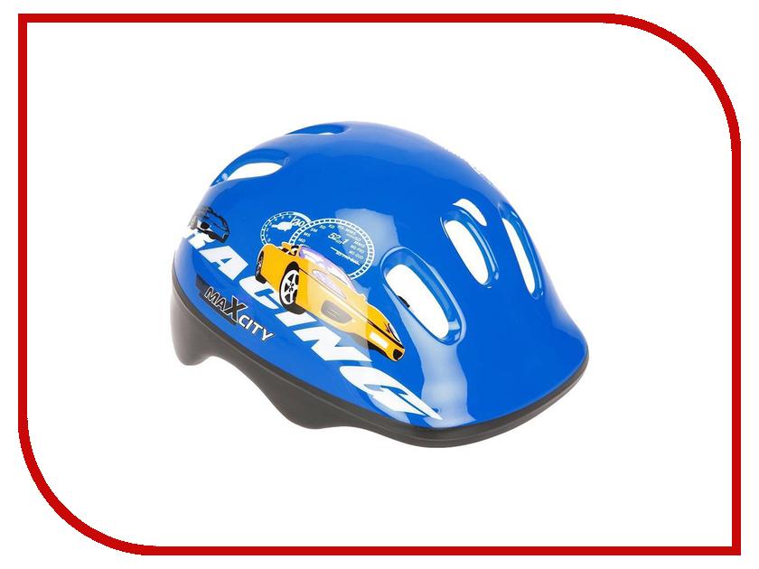 Шлем MaxcityBaby Car adj XS Blue