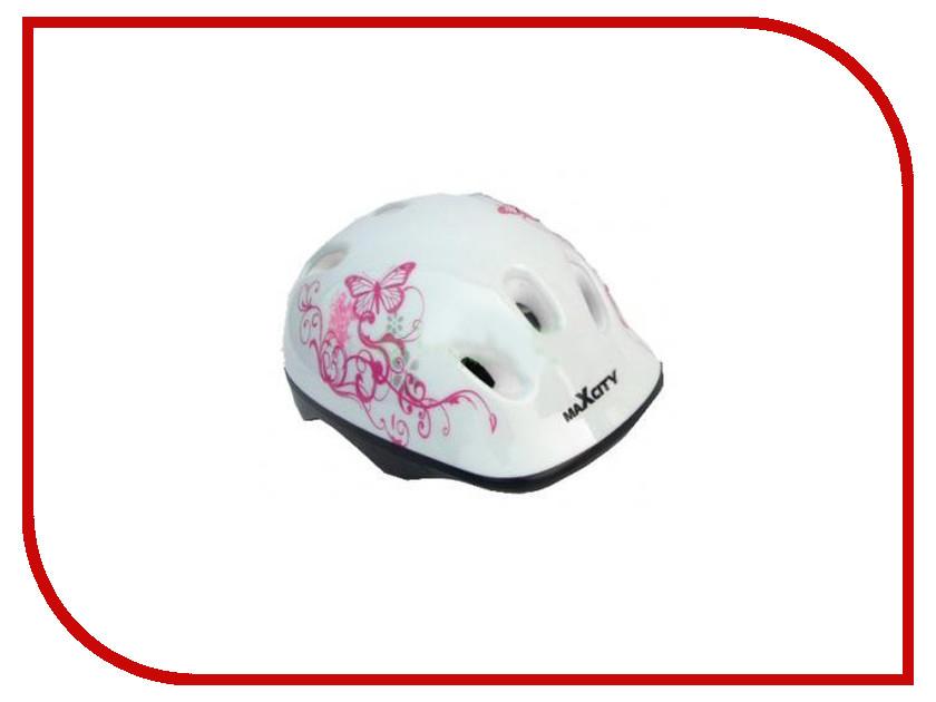 Шлем Maxcity Baby Caribo Girl S White