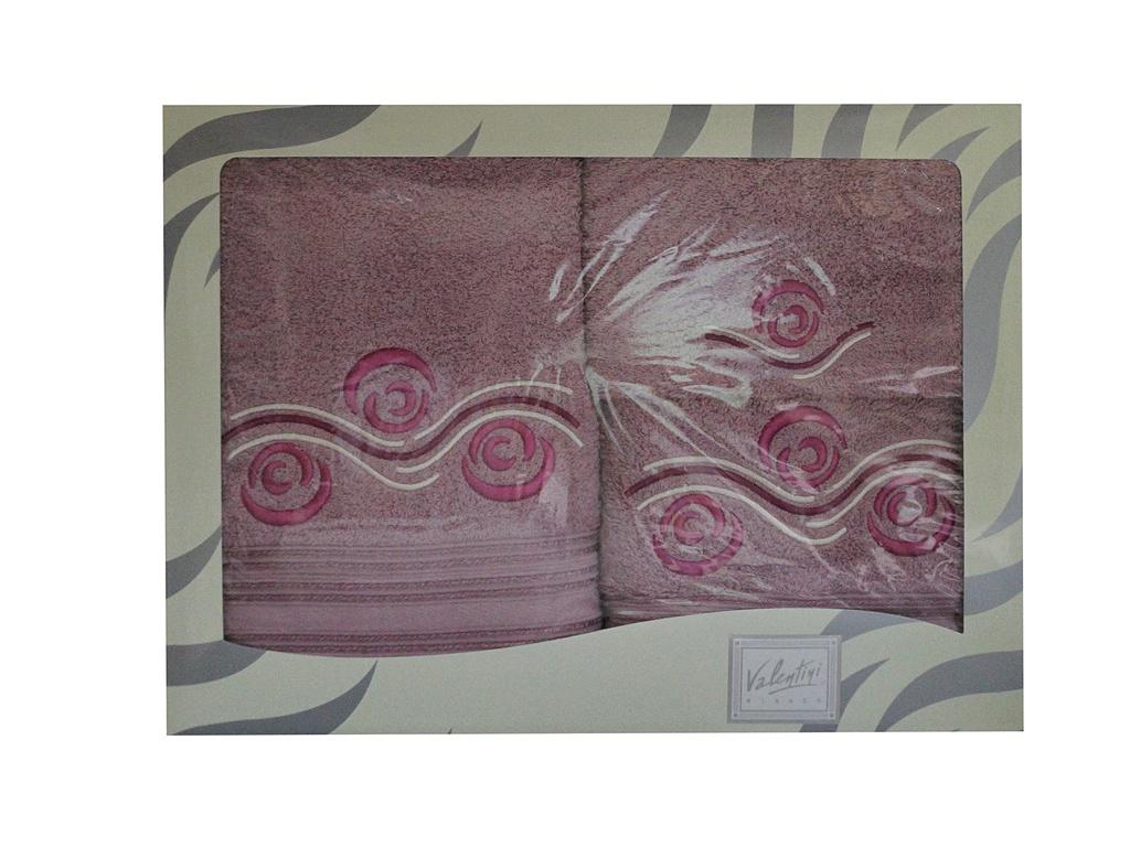 Полотенце Valentini 30x50/50x100/70x140cm 3шт 81001 2221 цены онлайн
