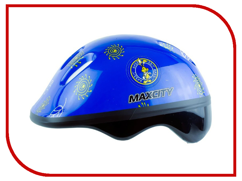 Шлем Maxcity Baby Little Rabbit S Blue шлемы и защита maxcity шлем baby teddy