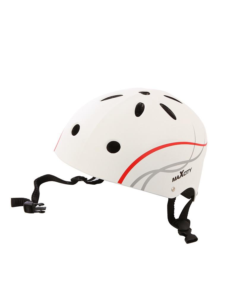 Шлем Maxcity Roller Liner M White шлем maxcity sport elite xl