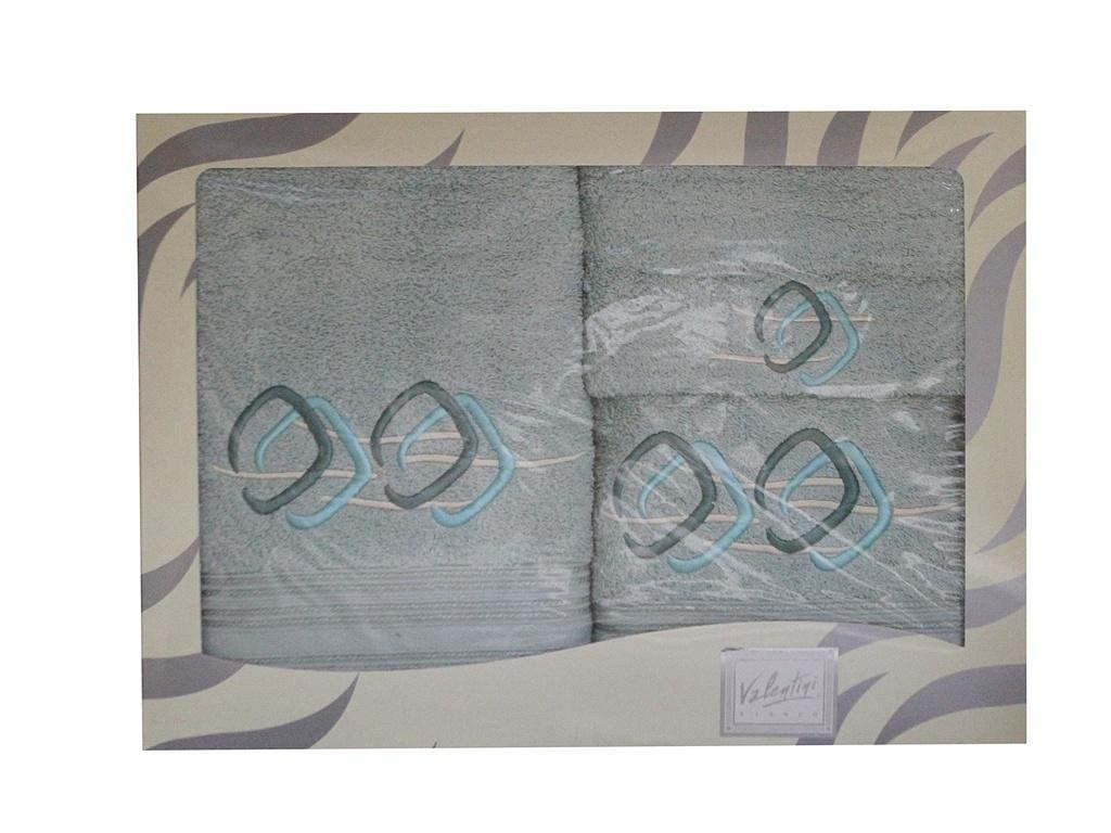 Полотенце Valentini 30x50/50x100/100x150cm 3шт 81021 2135 цена