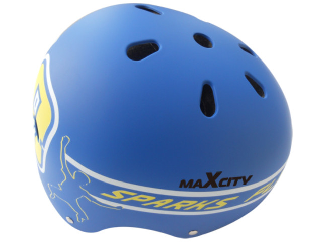 Шлем Maxcity Roller Stike L Light-Blue шлем maxcity roller liner m white
