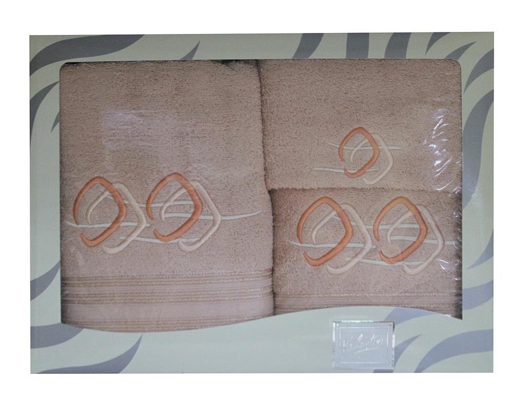 Полотенце Valentini 30x50/50x100/100x150cm 3шт 81021 2208 цена