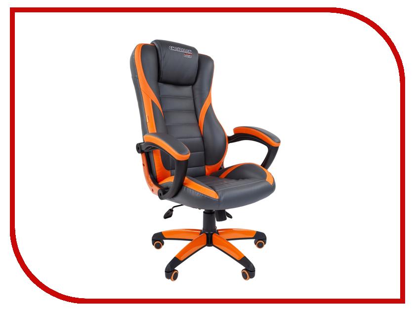 Компьютерное кресло Chairman Game 22 Grey-Orange 00-07019435 компьютерное кресло chairman 700 black 00 07014825