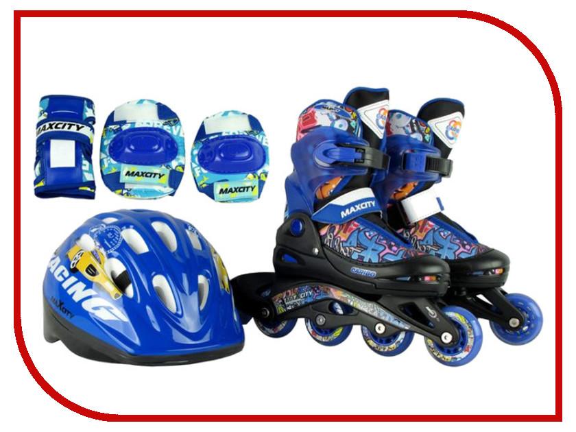 Коньки Maxcity Caribo Combo Boy 34-37 Blue стоимость