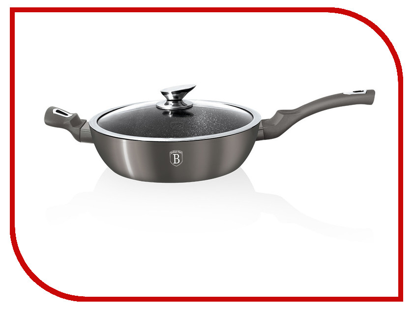 Сковорода Berlinger Haus Carbon Metallic Line 28cm BH-1238 1238