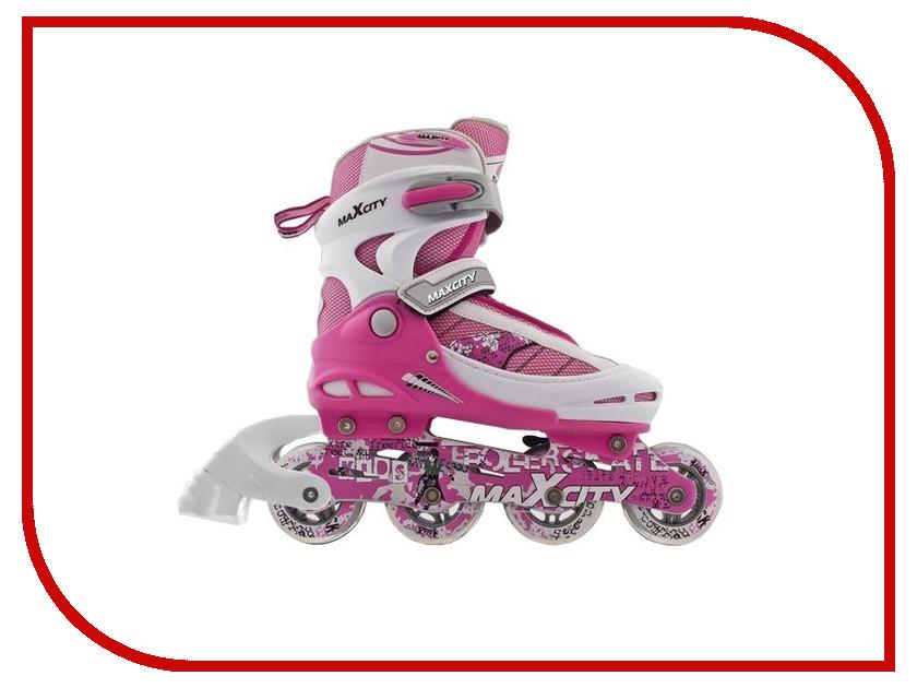 Коньки Maxcity Symbol 36-39 Pink коньки onlitop abec 7 223f 33 36 pink 1131913