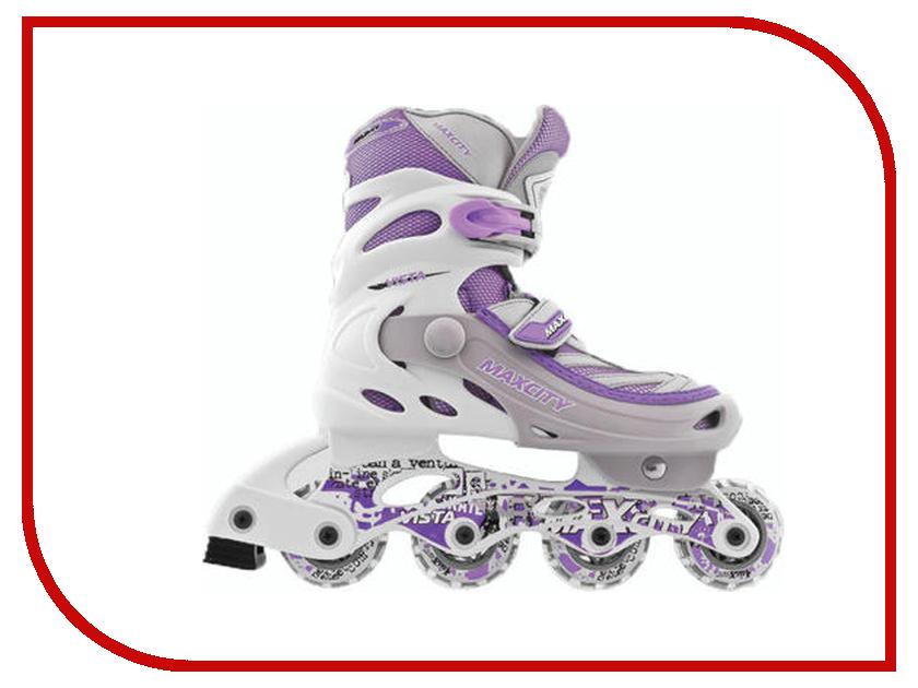 Коньки Maxcity Vista 31-34 Purple коньки onlitop abec 5 39 42 purple 869415