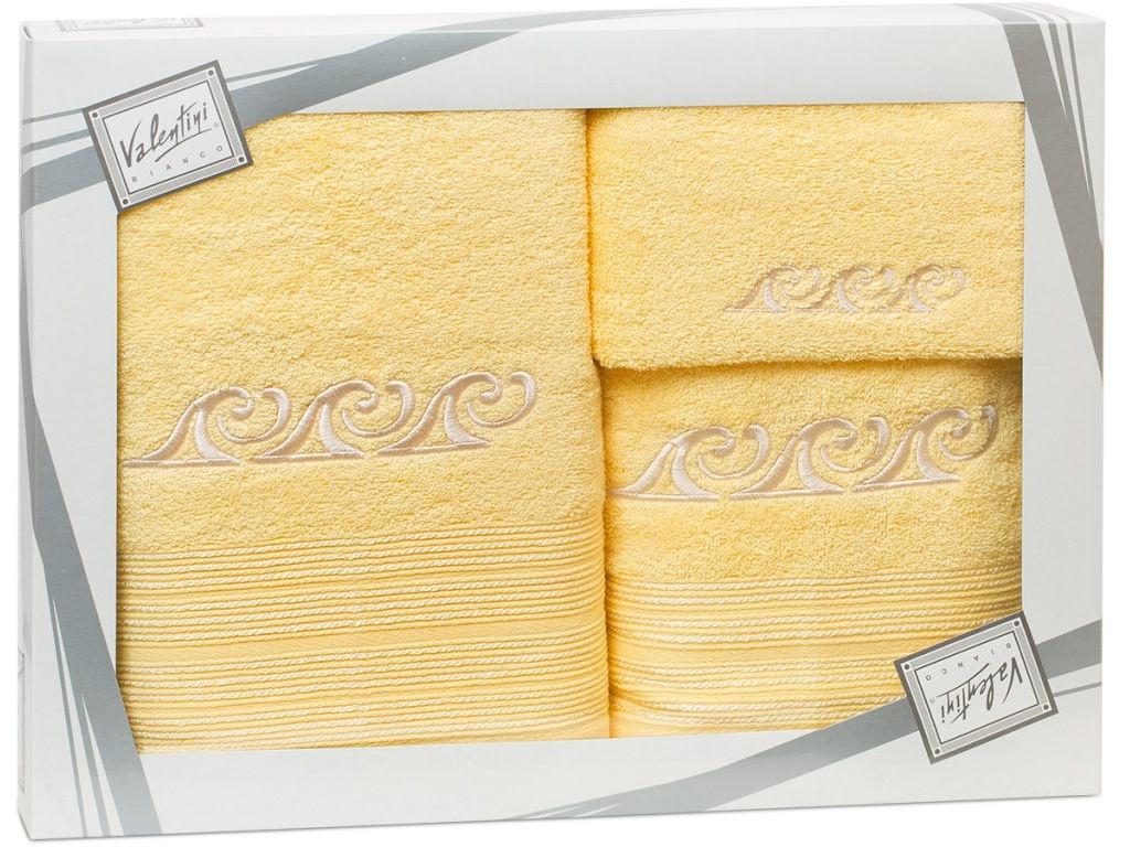 Полотенце Valentini Fantasy 3 30x50/50x100/70x140cm 3шт 2104