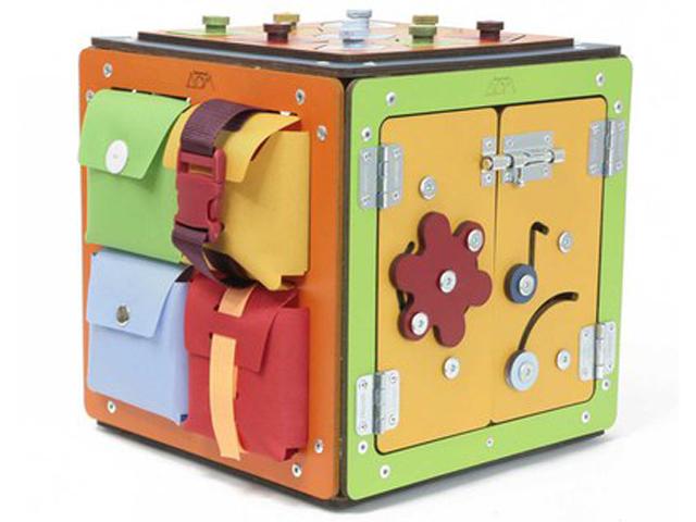 Бизиборд Занятный Дом куб 03-00000303