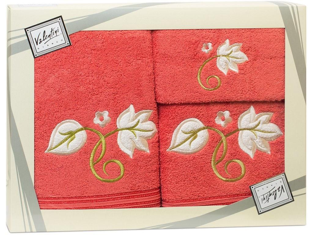 Полотенце Valentini Flower 1 30x50/50x100/70x140cm 3шт 1088