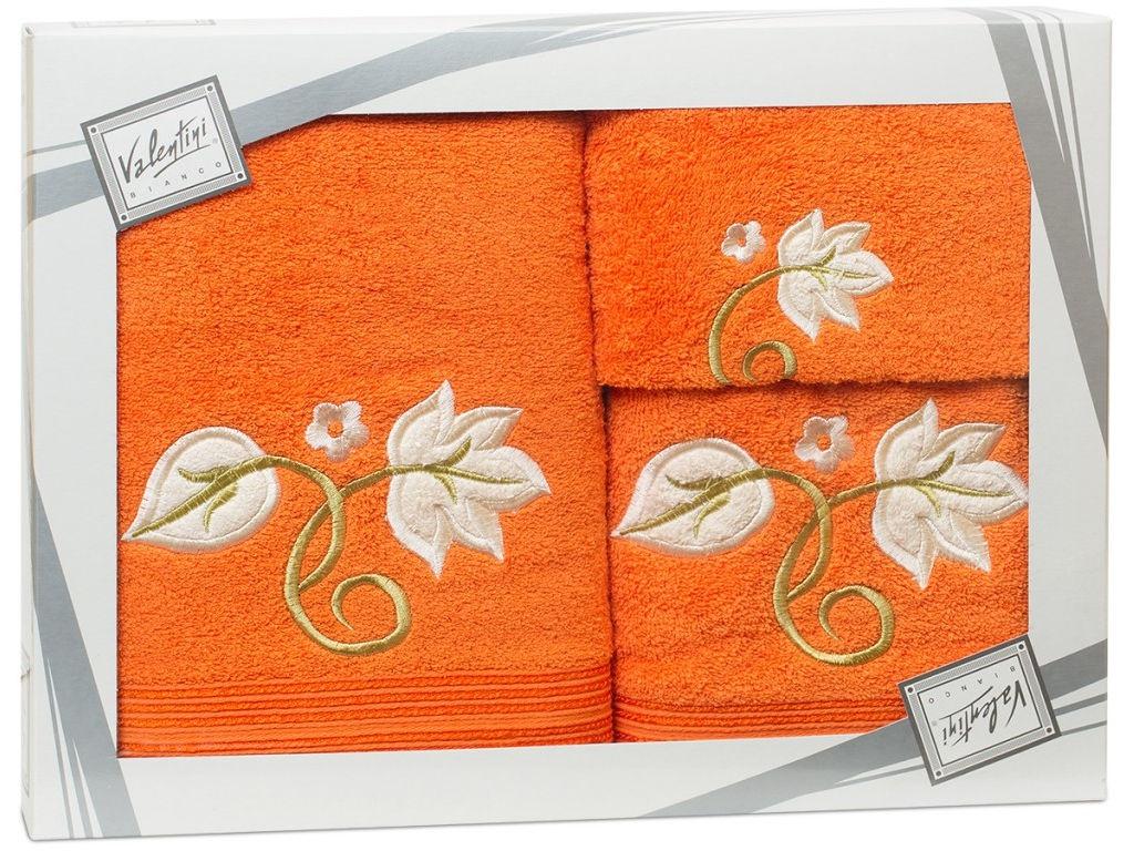 Полотенце Valentini Flower 1 30x50/50x100/70x140cm 3шт 1123