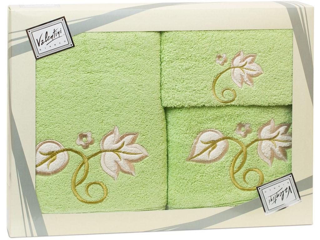 Полотенце Valentini Flower 1 30x50/50x100/70x140cm 3шт 2115