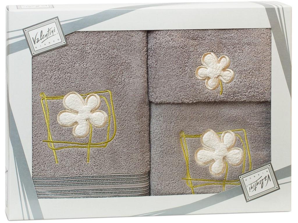 Полотенце Valentini Flower 2 30x50/50x100/70x140cm 3шт 1127