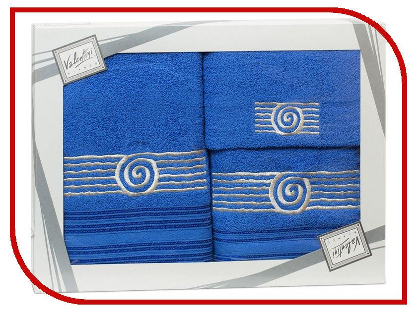 Купить Полотенце Valentini Sea 1 30x50/50x100/70x140cm 3шт 1119, Португалия