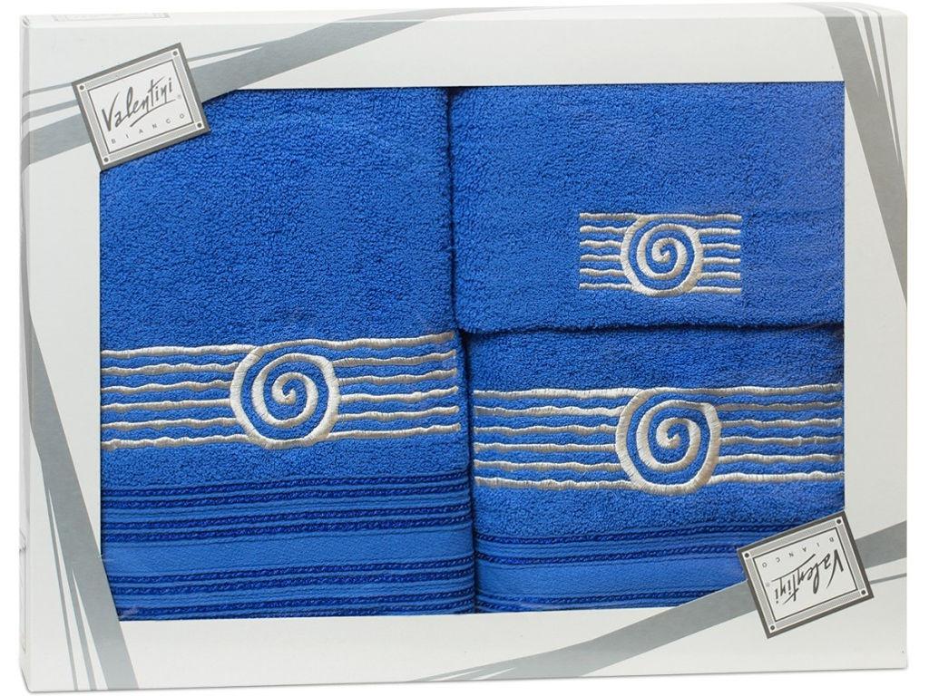 Полотенце Valentini Sea 1 30x50/50x100/70x140cm 3шт 1119 полотенца valentini полотенце sea цвет оранжевый набор
