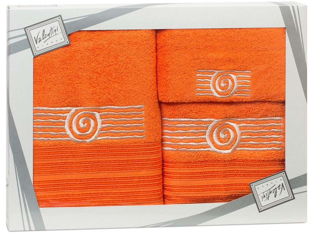 Полотенце Valentini Sea 1 30x50/50x100/70x140cm 3шт 1123 полотенца valentini полотенце sea цвет оранжевый набор