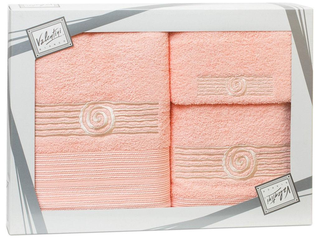 Полотенце Valentini Sea 1 30x50/50x100/70x140cm 3шт 2105 полотенца valentini полотенце sea цвет оранжевый набор