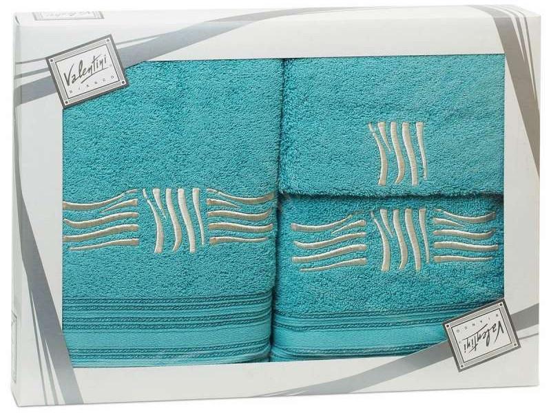 Полотенце Valentini Sea 2 30x50/50x100/70x140cm 3шт 1155 полотенца valentini полотенце sea цвет оранжевый набор