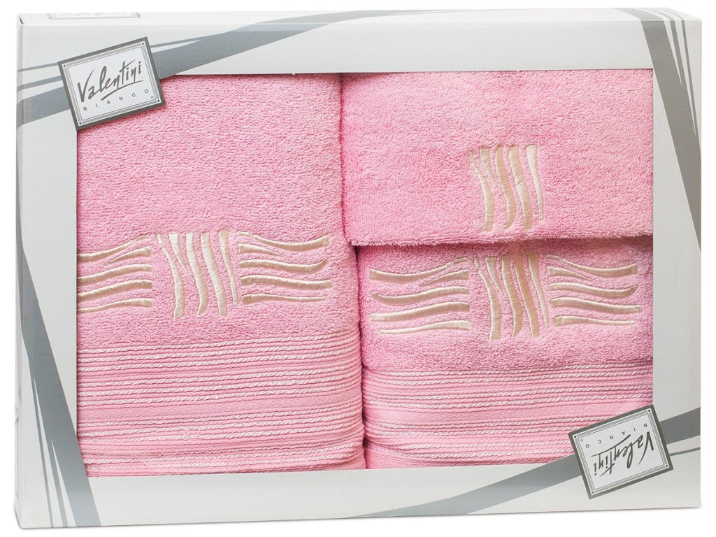 Полотенце Valentini Sea 2 30x50/50x100/70x140cm 3шт 2111 полотенца valentini полотенце sea цвет оранжевый набор