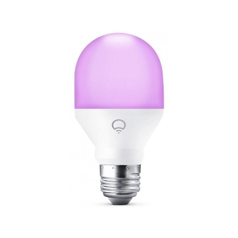 Лампочка LIFX Mini E27 9W 220V 220V 2500-9000K 800Lm A19 L3A19MC08E27 лампочка krez light 9w e27 4gm wh126 02