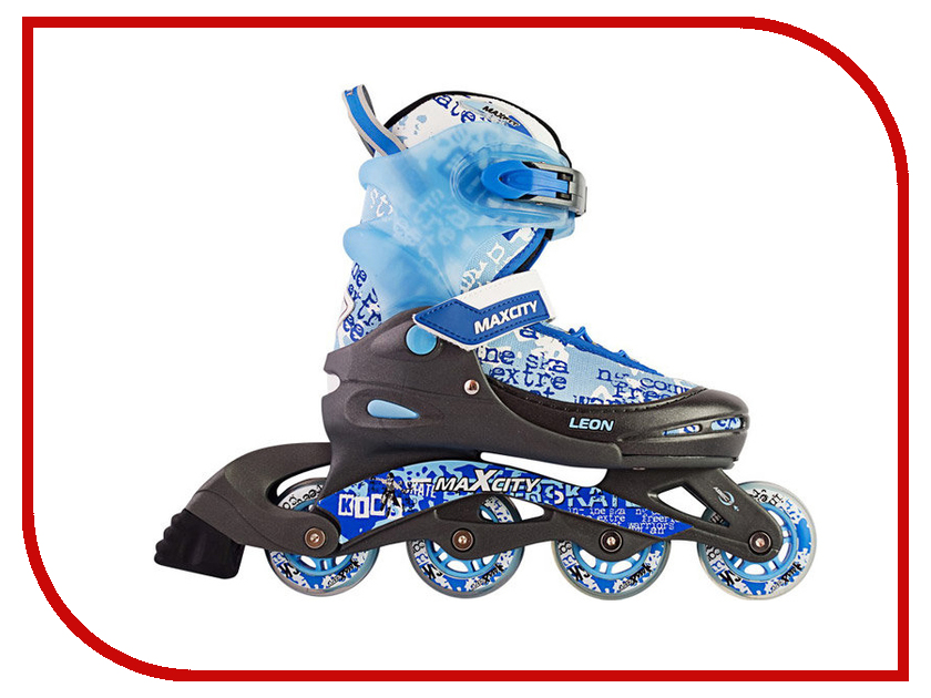 Коньки Maxcity Leon 30-33 Blue роликовые коньки maxcity expert female