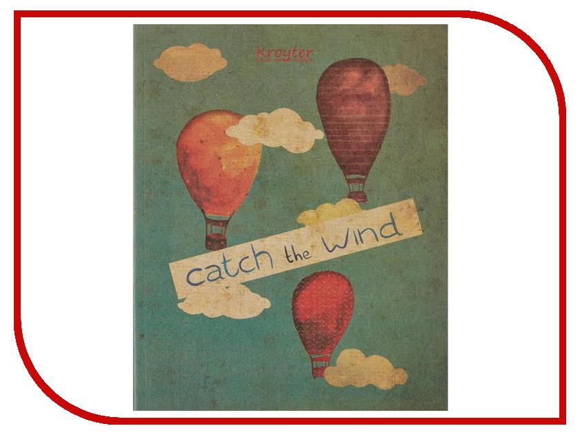 Тетрадь Kroyter Catch The Wind A5 48 листов 455197