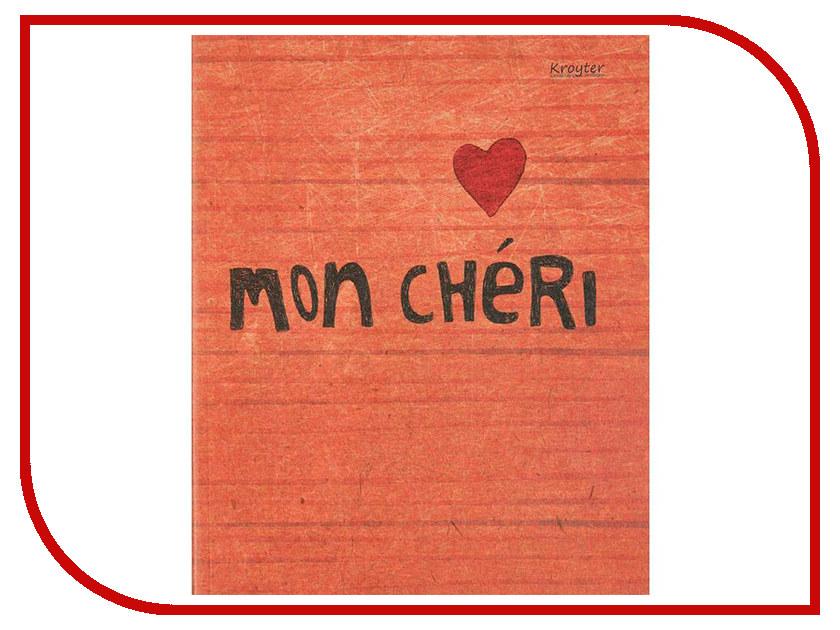 Тетрадь Kroyter Mon Cherry A5 48 листов 455200 kroyter тетрадь mon cherry 48 листов в клетку