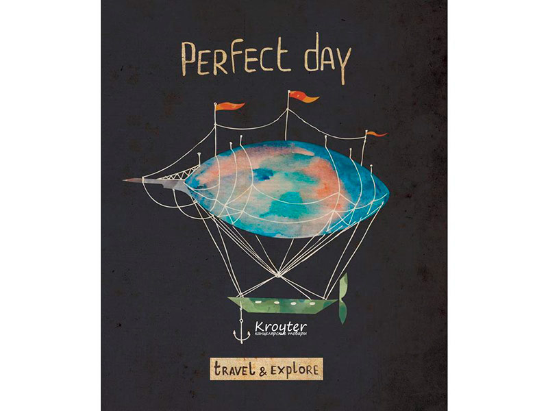 Тетрадь Kroyter Perfect Day A5 48 листов 455195