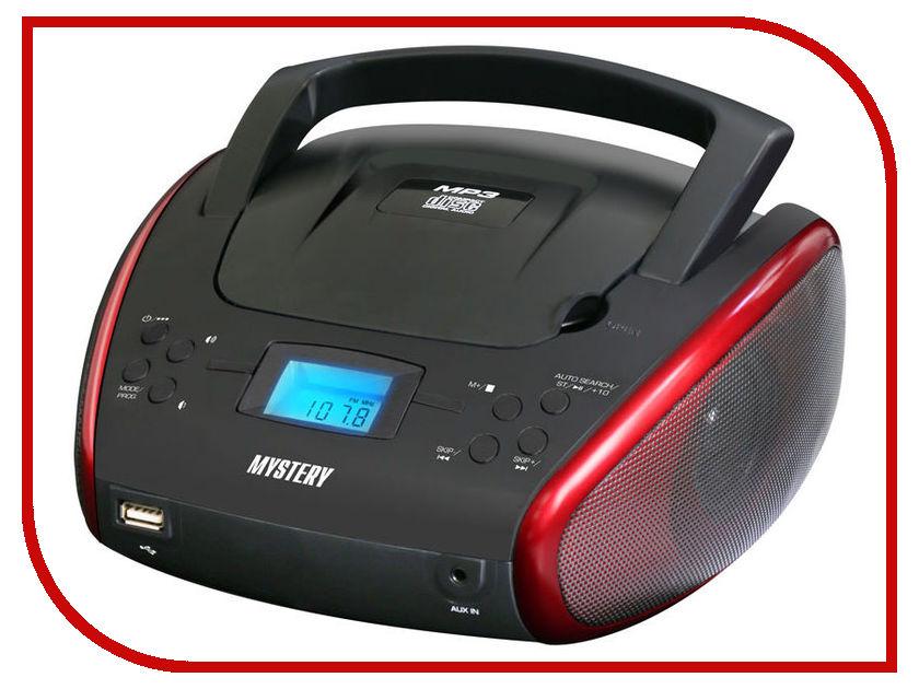 Магнитола Mystery BM-6114U Black-Red