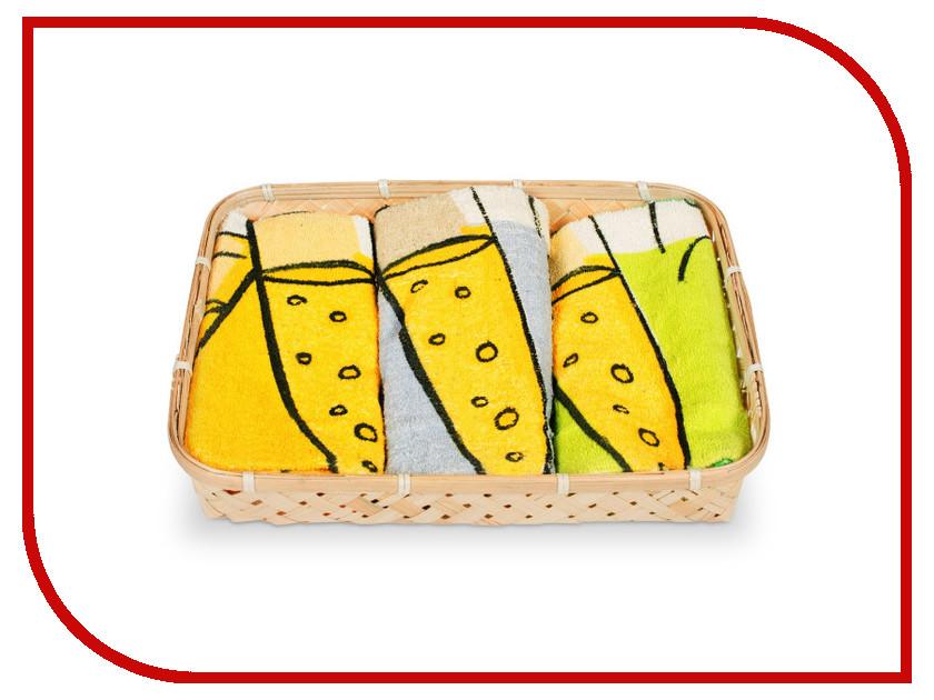 Полотенце Dolz Комплект кухонный 50x50 Cava полотенце valentini комплект кухонный 50x50 limoni fortes