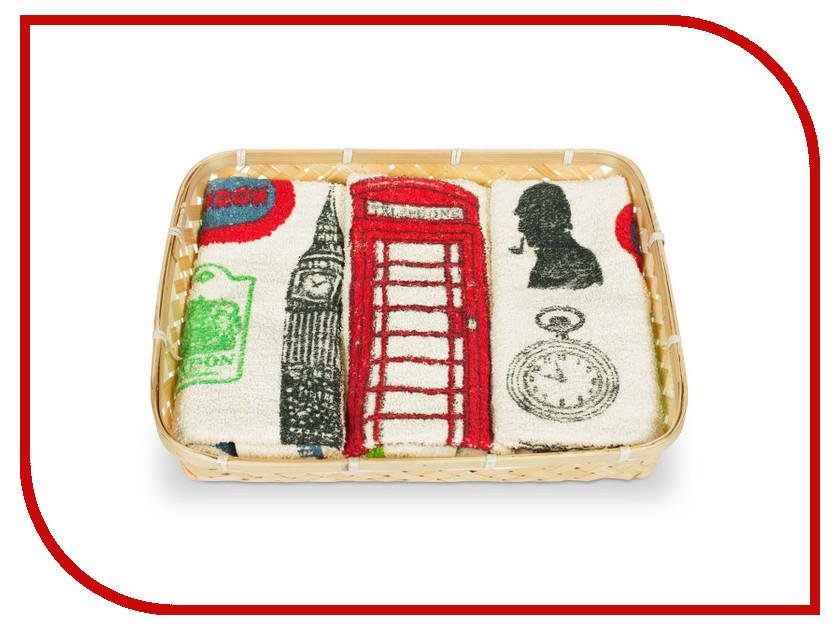 Полотенце Dolz Комплект кухонный 50x50 London полотенце valentini комплект кухонный 50x50 limoni fortes