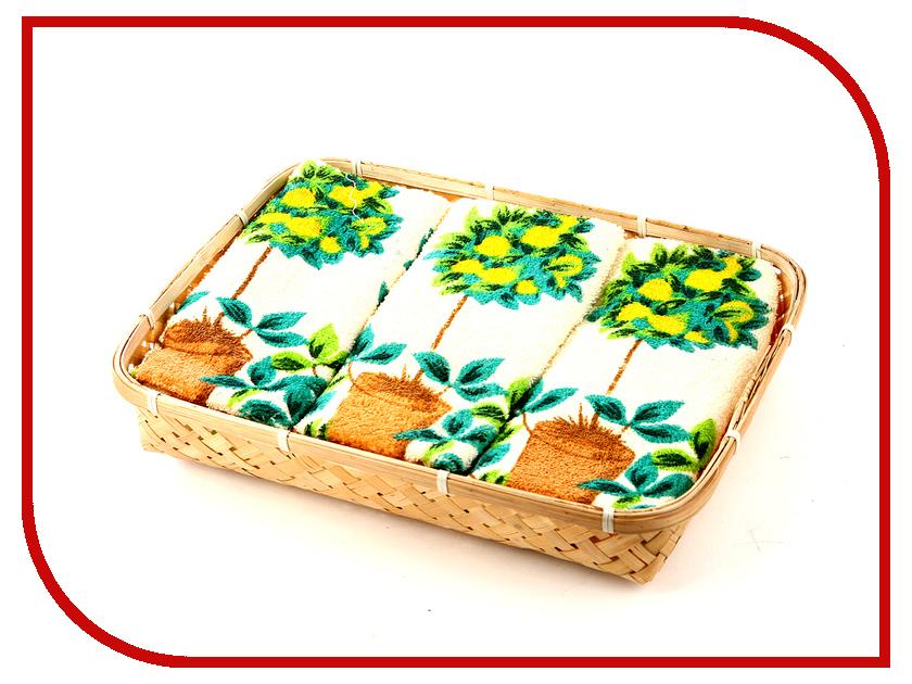 Полотенце Dolz Комплект кухонный 50x50 Macetas полотенце valentini комплект кухонный 50x50 limoni fortes