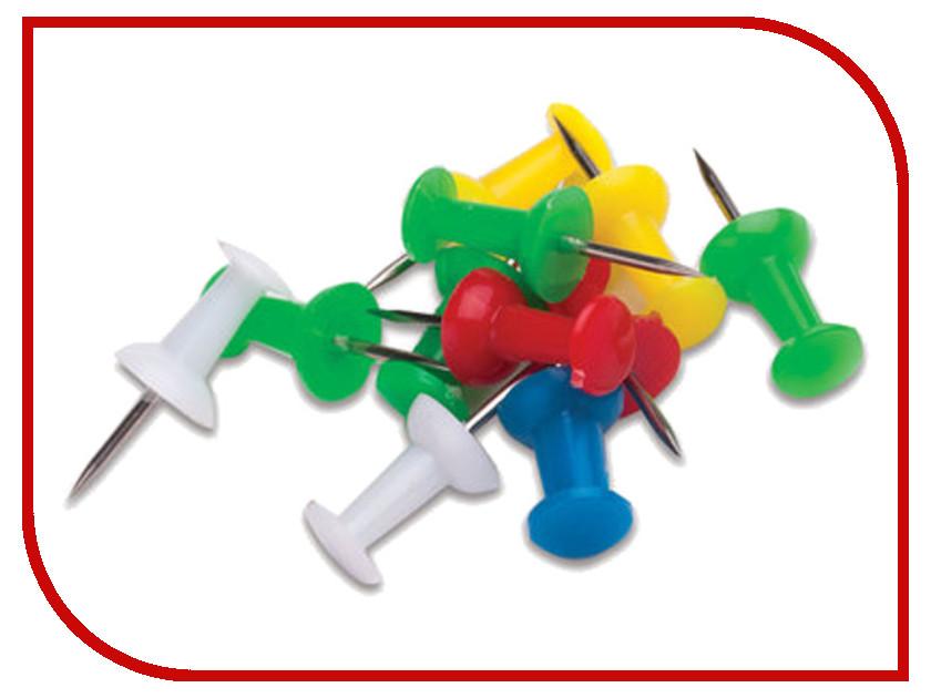 Силовые кнопки-гвоздики Staff 50шт Color 224770 силовые кнопки гвоздики цветные 100 штук 19749